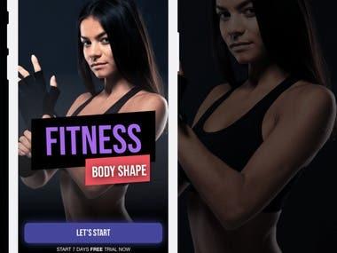 Ionic   Fitness app