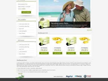 Potensguru.se (website design)