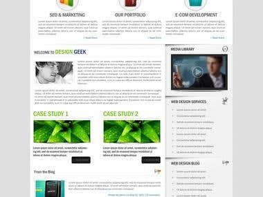Design Geek Website