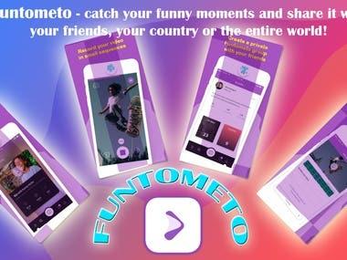 Funtometo- Social Media App
