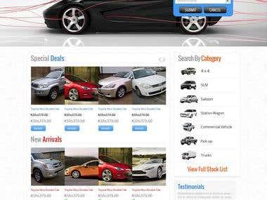 Online Car Portfolio