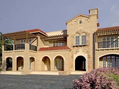 Private Residence Mediterranean Design