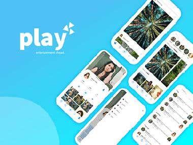 Play app redesign Process