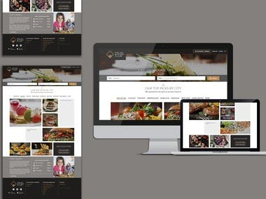 Halal Food Finder Website