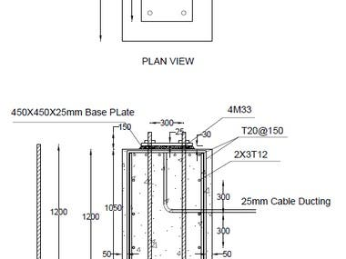 Lighting Pole Foundation Design