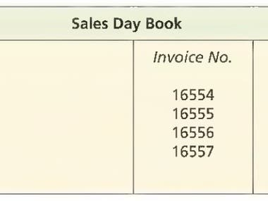 Sales Day Book; Bookkeeping