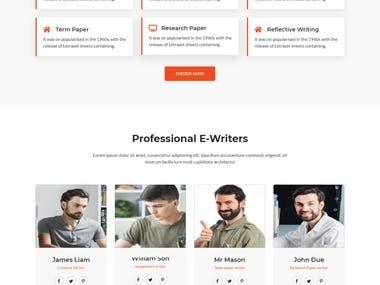 Content Writing Service Platform