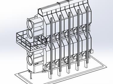 Grain Bin Dryer Model