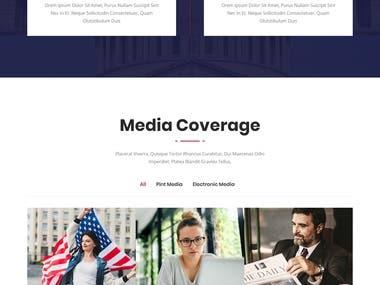 Multipurpose Political HTML Template
