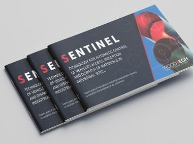 "Brochure for the ""Sentinel"" product"