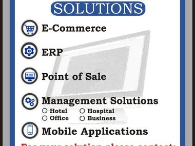 Brochure for IT Solutions consultancy