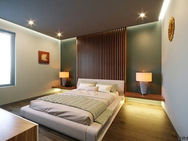 Bedroom Interior Renderings