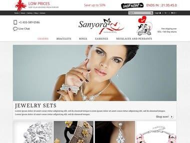 magento shop website