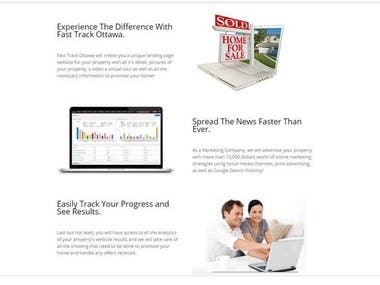 Property Builder website