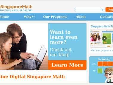 Isingapore Math Promo