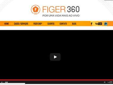 Figer 360 Institucional Website