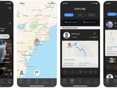 Driveline iOS app