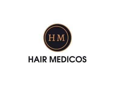Hair Transplants Clinic Logo (click for full project!)