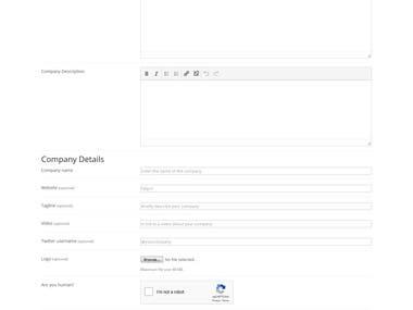 WP Job Manager Custom Fields Creation for Job Posting