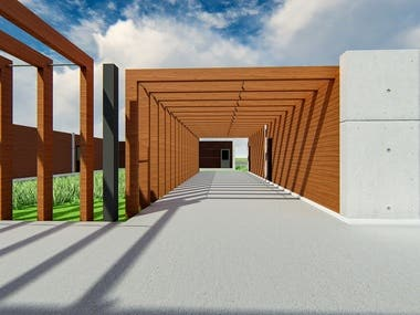 Architectural Design, 3D Modelling and Rendering