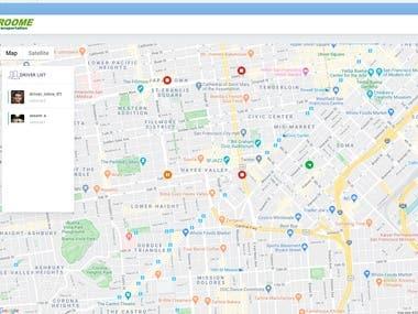 GPS Car Tracking(ReactJS & Laravel API)
