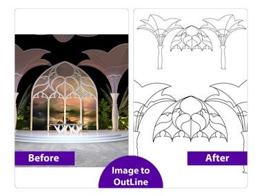 Image to vector & outline