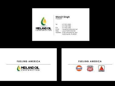 MIDLand Bussiness Card