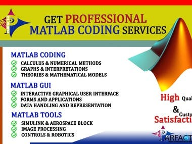 MATLAB Professional Coding & Graphical User Interface Servic