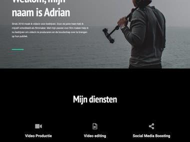Adrianmotion website