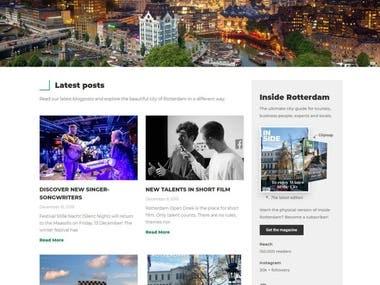 Inside Rotterdam website