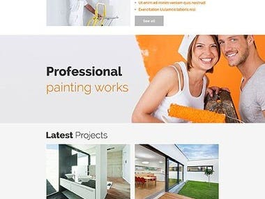 Wordpress Website custom Design