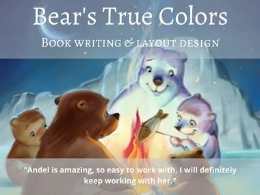 Bear's True Colors book