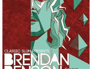 Brendan Benson gig poster