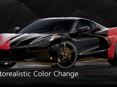 Color changing of car