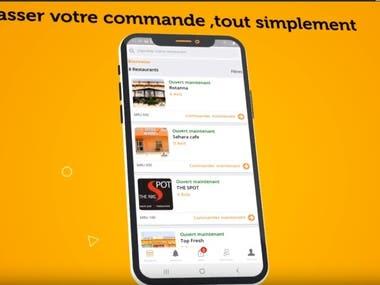 2d app promotional video
