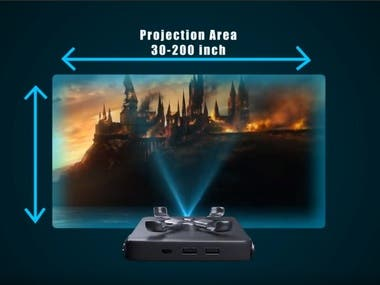 3d Animation video (Mini Projector)