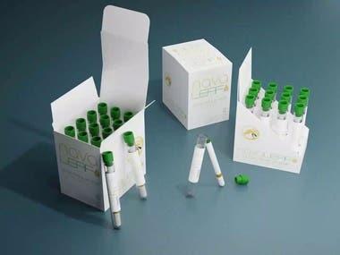 3D/2D Packaging Design/review/schema