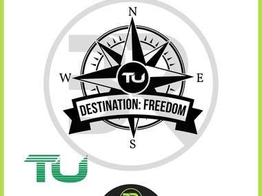 Team Unstoppable Logo Design