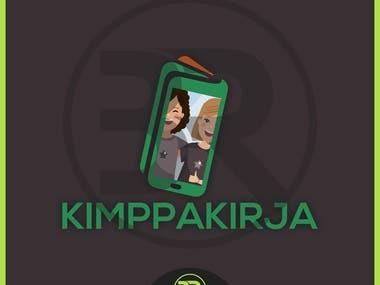 KIMPPAKIRJA Logo Design