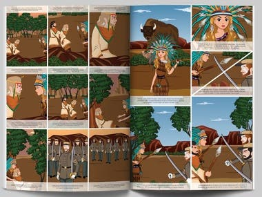 Comic/Story book design