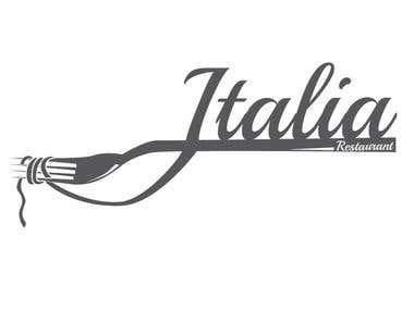 Italia Restaurant Logo