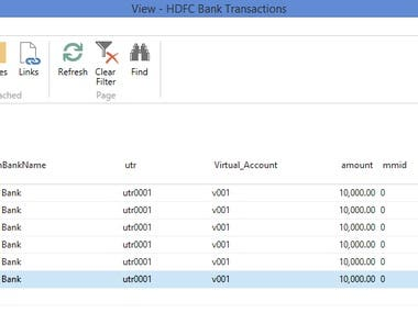 Bank Integration Automatic entries posting in NAV