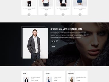 Clothing Site