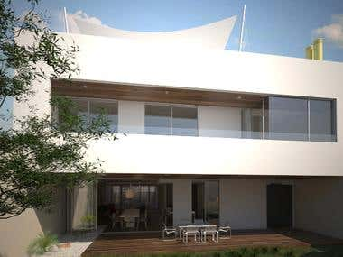 3D Brazilian House