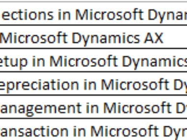 Microsoft Dynamics 365 Operations Finance and Manufacturing