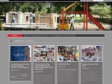 University Website for Nirma University
