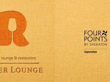 Меню для ресторана River Lounge Four Points by SHERATON