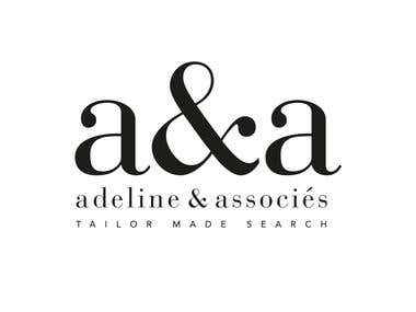 A&A, logotype for an agency of executive search