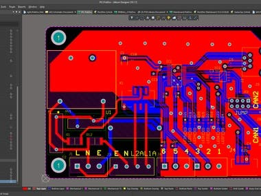 Professional PCB designer with 50 + PCB projects