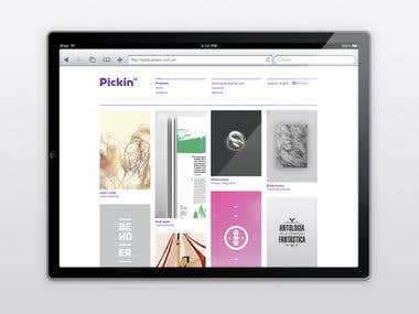 Pickin Studio - Responsive Website